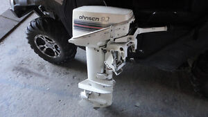 9.9 Johnson 2 stroke outboard motor