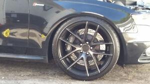 20in niche targa rims and nitto tires 5x112