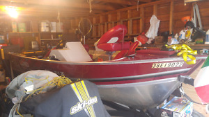 Lund 16ft mr pike aluminum boat