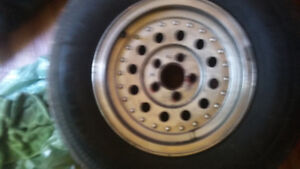 tires and mags 235 75 r15 used