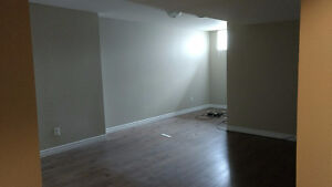 Basement apartment for rent April 1st