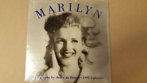 Mairlyn Monroe Calander From 1995 Never Opened