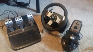 G27 logitech steeing wheel