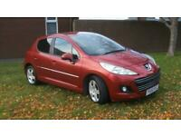 2010 Peugeot 207 1.6HDI 92 Sport one owner from new cheap tax band £20.00 a year