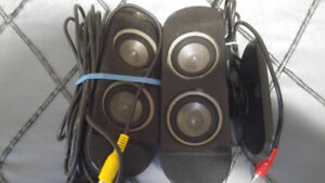 Computer speakers like new and sold as you see it NEED GONE