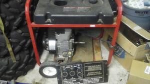 Generac generator  frame and motor