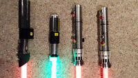 Star Wars Force F/X Lightsabers - Updated 11/30