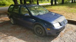 2004 TDI Jetta Wagon - as is