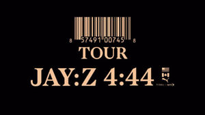 JAY-Z 4:44 Tour December 11th @ Rogers Arena - PAIR & 4 IN A ROW