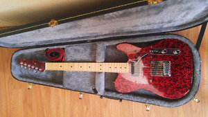 Custom one of a kind telecaster