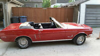 1968  Mustang Convertiable