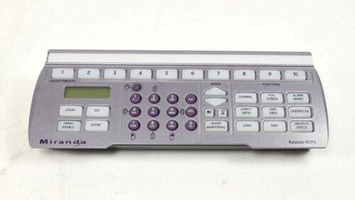 Miranda Kaleido RCP2 Remote Control Panel For Kaleido-X System