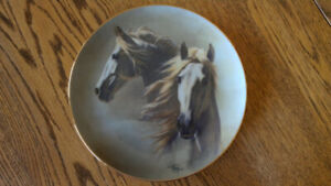 For the Horse Enthusiast -  Fred Stone Horse Plates