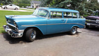 1956 Chevy 2 door wagon