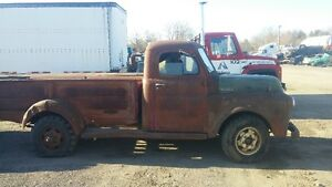 SOLID WESTERN 1948 FARGO 1 TON PICK UP.