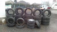 pneu usager ete ou neuf 13 pouce a 20 pouce posepneu et balance