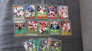 NFL 1999 Topps cards(19)