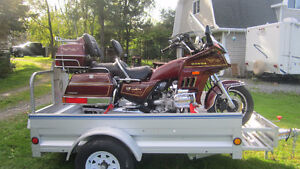 1986 Honda Goldwing(Interstate)@matching trailer.