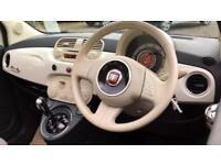 2014 Fiat 500 0.9 TwinAir Lounge 2dr Dualogi Automatic Petrol Convertible