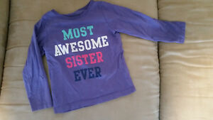"""""""Most Awesome Sister Ever"""" Long sleeve shirt"""