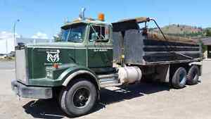 FOR SALE 1989 WESTERN STAR GRAVEL TRUCK OR TRADE FOR STEP DECK
