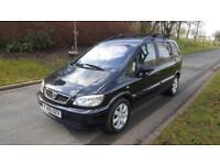 Vauxhall/Opel Zafira 1.6i 16v 2005.5MY Breeze,78,000 MILES, FULLY SERVICED,