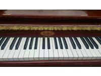Hi-lacquered Seibel Upright Piano - bright tone - lovely keys - no space - needs to go