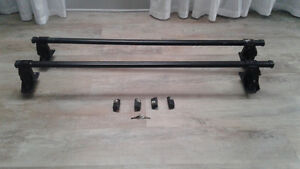 Thule roof rack bars  and locks was for honda accord