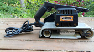 "Durable Craftsman Commercial 4"" Belt Sander"