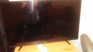 """RCA 49"""" 4k tv. 40 days new. With proof of purchase"""