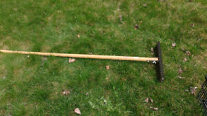 Thatching rake in new condition.