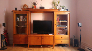 Ensemble complet meuble tele