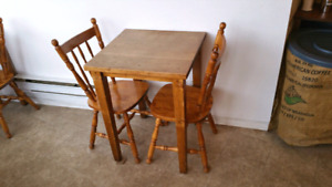 Wood dining Chairs  $10