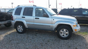 2006 Jeep Liberty 4 x 4 , Diesel Engine