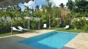 Luxury Villa, Las Terrenas, Dominican Republic, Beach 3min walk