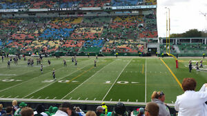 2 Tickets to Riders vs Alouettes Oct 22
