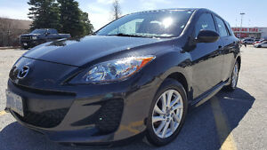 2013 Mazda3 GS Sport 6-Speed Manual with Winter Tires