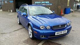 2009 Jaguar X-TYPE 2.2D SE, SAT NAV,ONLY 95000 MILES FULL SERVICE HISTORY,