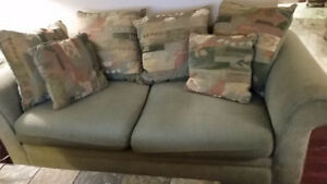 ALL for $499- Sofas, Dining Table Set, Coffee Table, Side tables