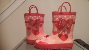 Toddler size 10 rain boots