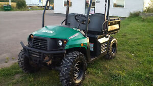 GOOD USED 400cc SIDE by SIDE - 4X4 DUMP - BENCH SEAT - LOW MILES