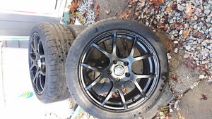 Michelin Tires and Enkei Rims