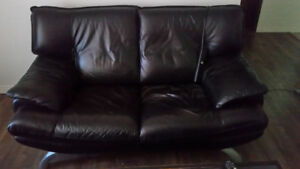 Selling all Furniture - Table, chairs, bed, mattress, Couch