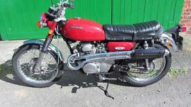1971 Honda CL 175 CB 175 uk registered only 6818 recorded mileage