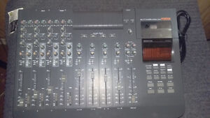 Mixing board for recording studio