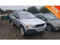 2004 Volvo XC90 SUV 2.4D D5 S Auto5 Diesel silver Automatic