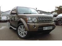 2010 LAND ROVER DISCOVERY 4 TDV6 HSE STUNNING NARA BRONZE METALLIC WITH BEIGE