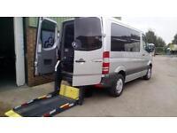 2009 Mercedes Sprinter SWB AUTOMATIC DIESEL 210 Wheelchair Access Disabled Van