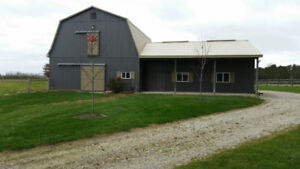 Private Horse barn for rent