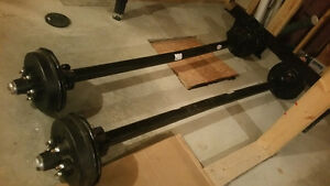 3500lb trailer axle with drum brake